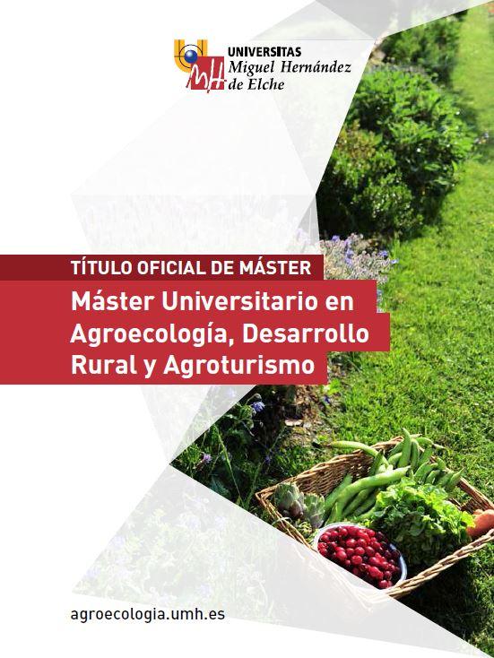MASTER AGROECOLOGIA 2016