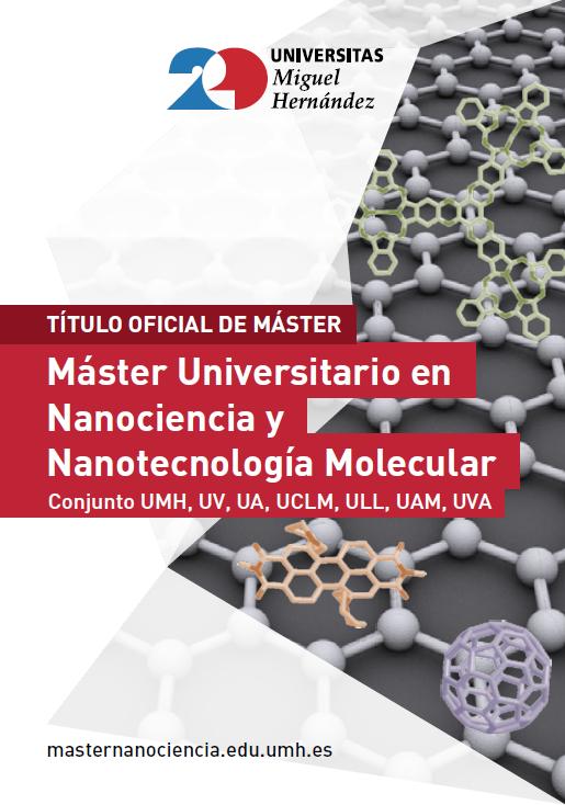MASTER NANOCINECIA Y NANOTECNOLOGIA 2017