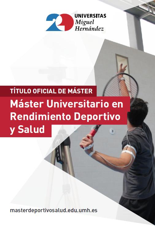 MASTER RENDIMIENTO DEPORTIVO 2017