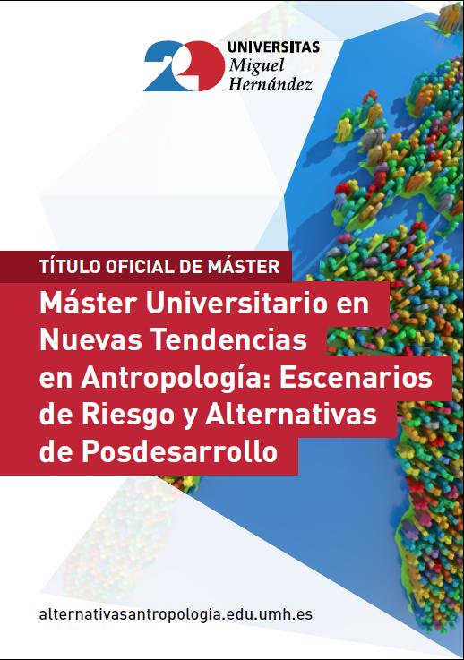 MASTER NUEVAS TENDENCIAS ANTROPOLOGIA 2017