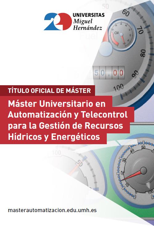 MASTER AUTOMATIZACIÓN Y TELECONTROL 2016