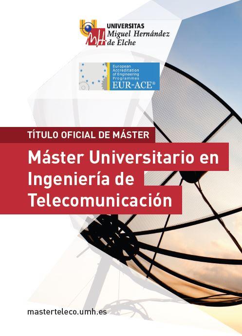 MASTER TELECOMUNICACION 2016