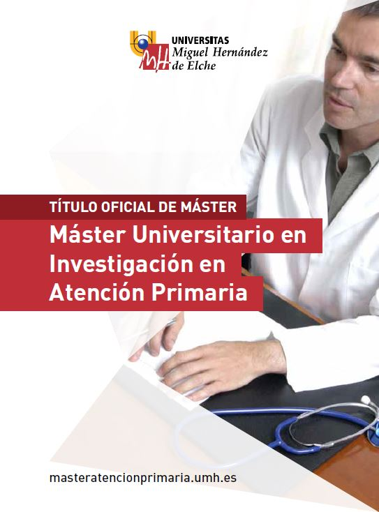 MASTER ATENCION PRIMARIA 2016