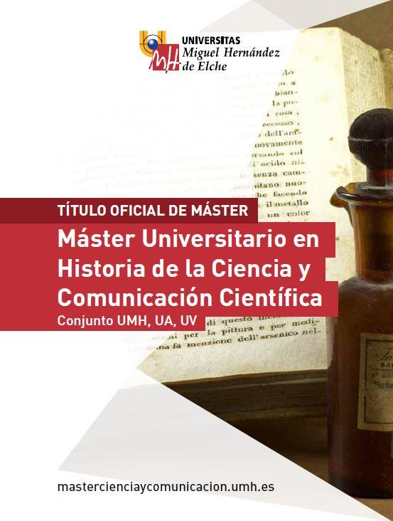 MASTER HISTORIA CIENCIA COMUNICACION 2016