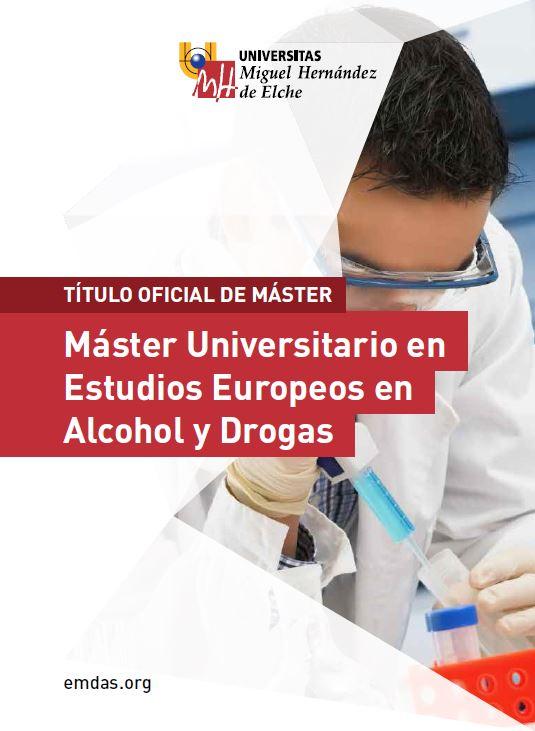 MASTER ALCOHOL Y DROGAS 2016