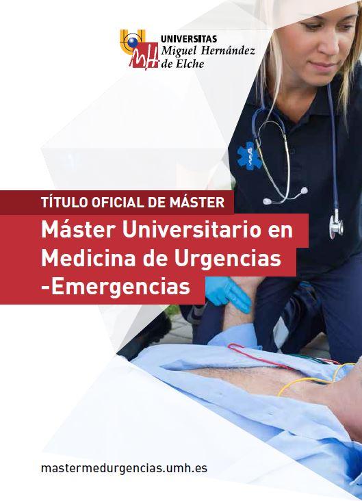 MASTER MEDICINA URGENCIAS EMERGENCIAS 2016