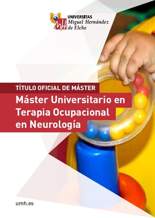 MASTER TERAPIA OCUPACIONAL NEUROLOGICA 2016
