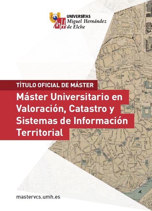 MASTER VALORACION CATASTRO Y SIT 2016