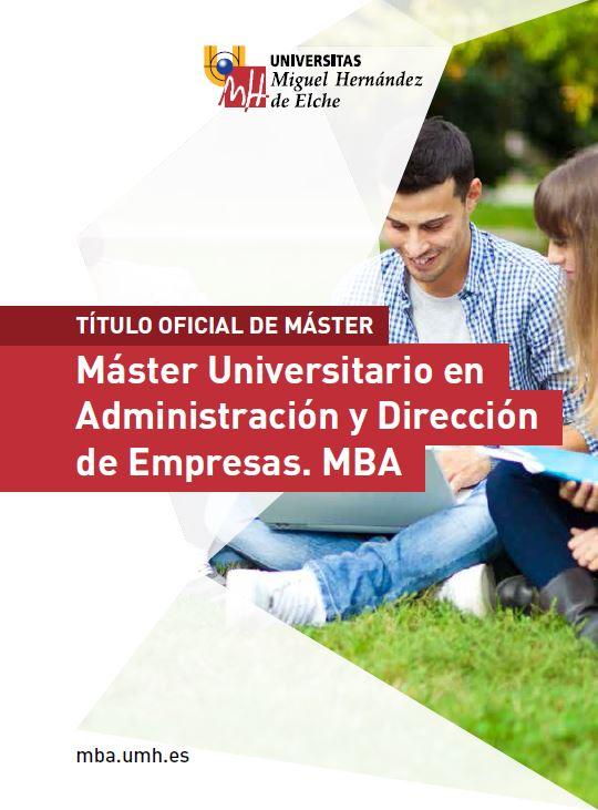 MASTER ADE-MBA 2016