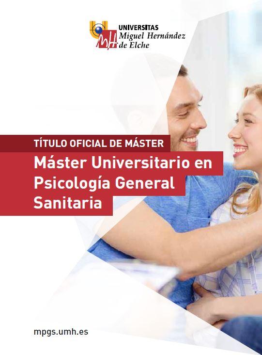 MASTER PSICOLOGIA SANITARIA 2016