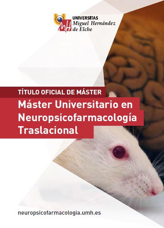 MASTER NEUROPSICOFARMACOLOGIA TRASLACIONAL 2016