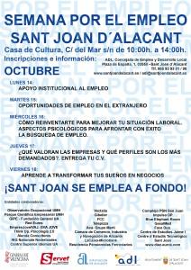 11-10-13-CARTEL SEMANA POR EL EMPLEO DE SANT JOAN D´ALACANT_blog