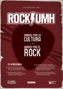 Cartel web Escuela de Rock UMH
