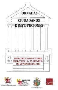 12-11-13Poster Jornada Ciudadanos e Instituciones