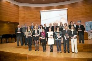 Ganadores de la IX edición de los Premios Consejo Social