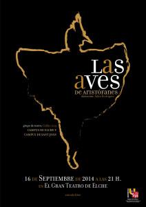 15-09-14-Cartel Las Aves gran teatro elche