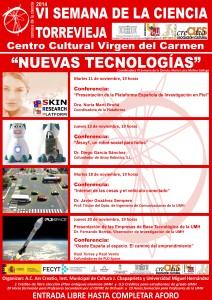 10-11-14- Semana Ciencia Torrevieja CARTEL