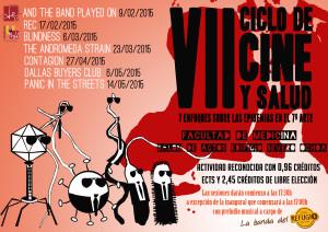Cartel VII Ciclo Cine y Salud UMH imagen