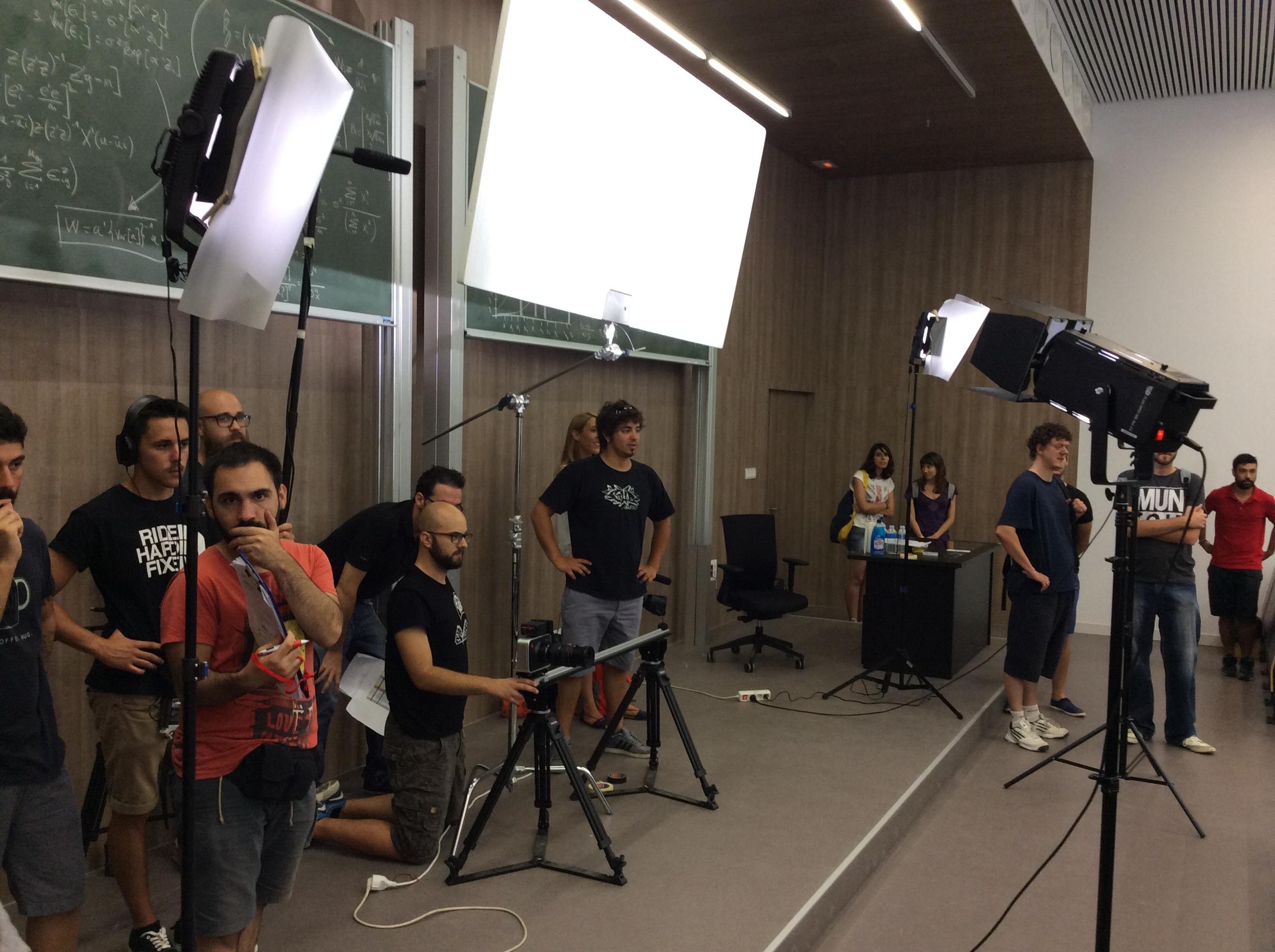 Resultado de imagen para audiovisual rodaje