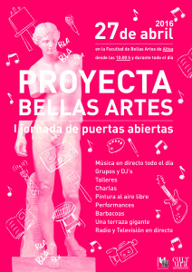 Cartel Bellas Proyecta Bellas Artes