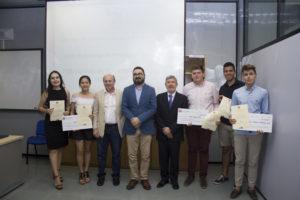 Premiados de la Fase Local de la Olimpiada de Economía y Empresa