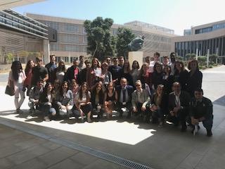 Estudiantes de la umh visitan la euipo en alicante for Oficina prop elche