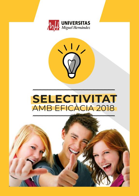 Selectivitat amb eficacia UMH 2018