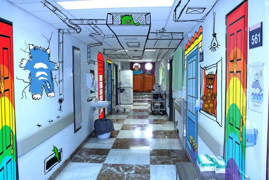 Boceto de las salas comunes