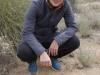 ELCHE (COMUNITAT VALENCIANA).- 09/02/20/ La ambientóloga de la UMH,Eva Graciá,con una pareja de Tortuga Mora (Testudo Graeca) cuya hembra puede almacenar el esperma de uno o varios machos durante 4 años en óptimas condiciones.EFE/MORELL